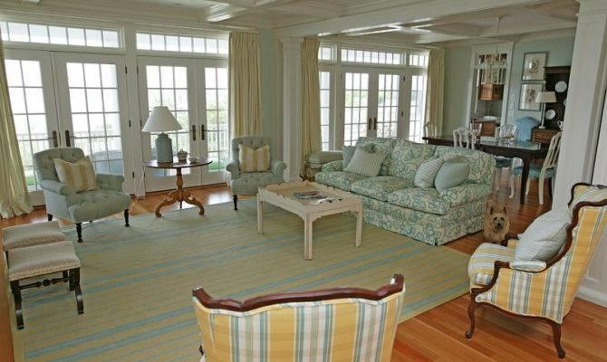 Cape Cod Beach House Mally Skok Design Interior