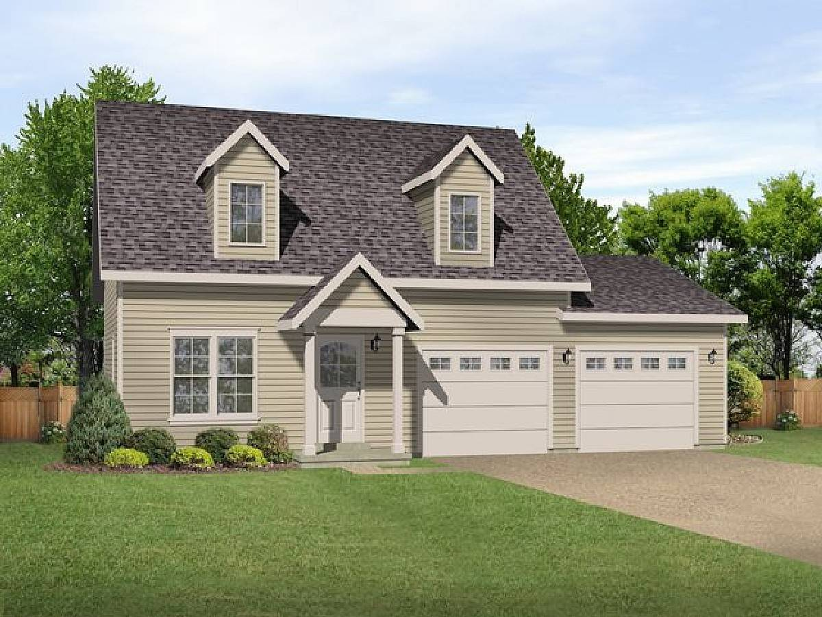 Cape Cod Charmer Floor Master Suite Cad