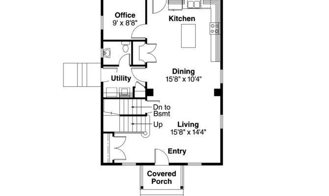 Cape Cod House Plan Castor Floor