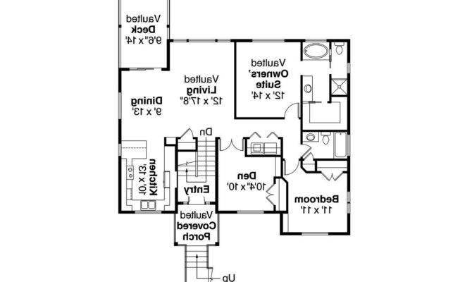 Cape Cod House Plan Snowberry Floor