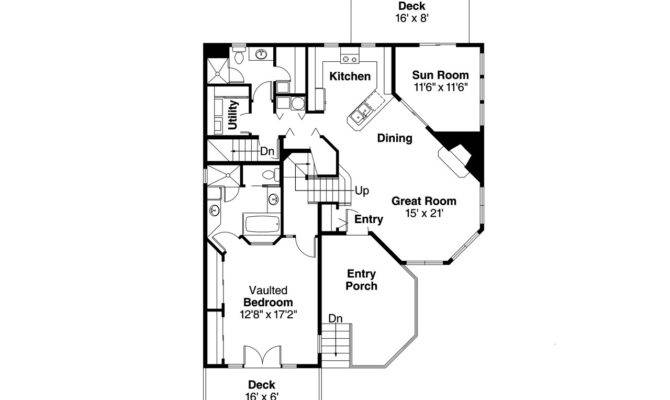 Cape Cod House Plan Winchester Floor