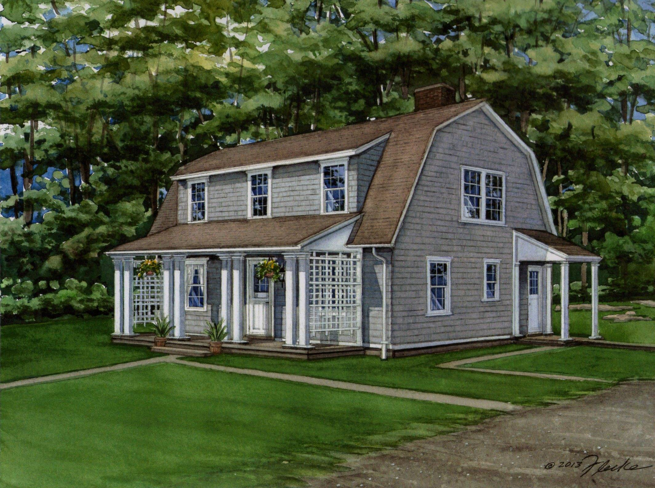 Cape Cod Style Homes Casual