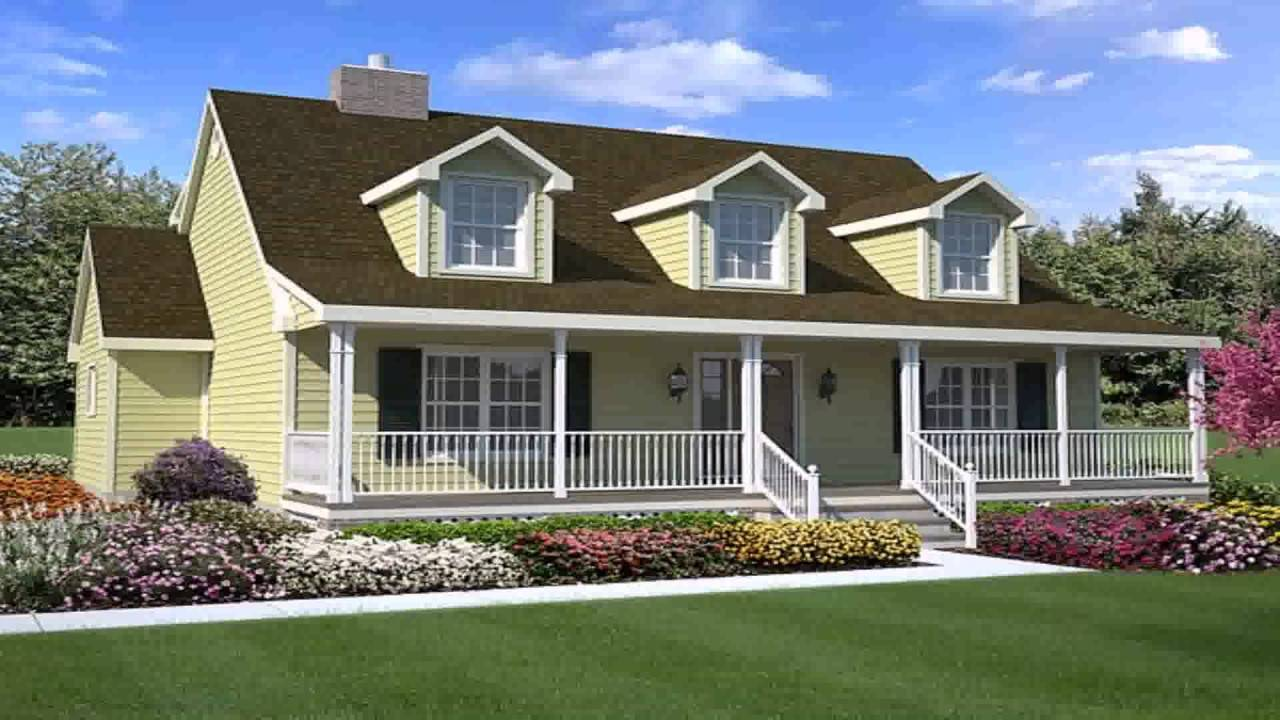 Cape Cod Style House Plans Dormers Youtube