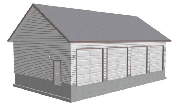 Car Detached Garage Plans