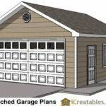 Car Door Detached Garage Plans