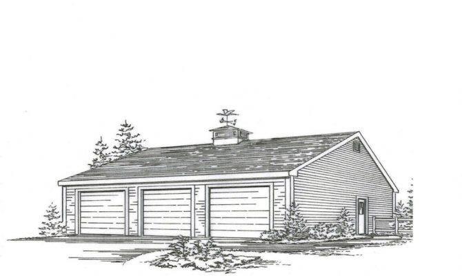 Car Garage Building Plans Blueprints Ebay