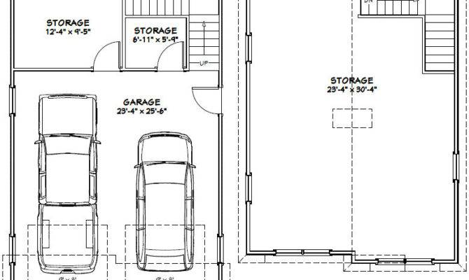 Car Garage Excellent Floor Plans