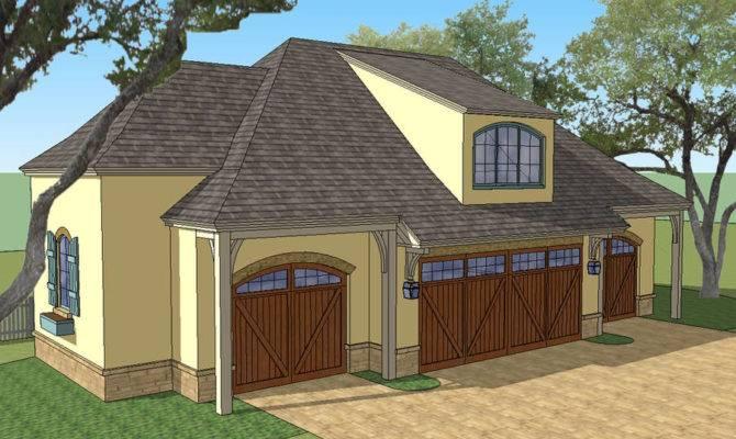Car Garage House Plans Detached Modern