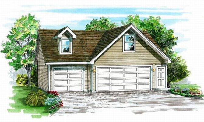 Car Garage Plans Detached Three Plan