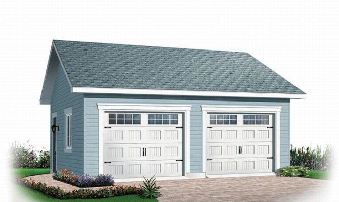 Car Garage Plans Detached Two Plan
