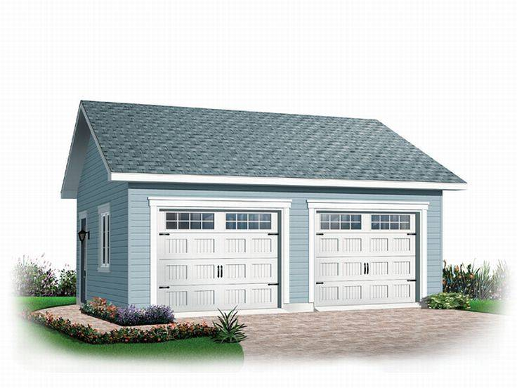 Car Garage Plans Detached Two Plan