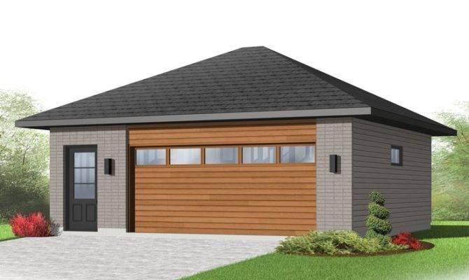 Car Garage Plans Modern Two Plan