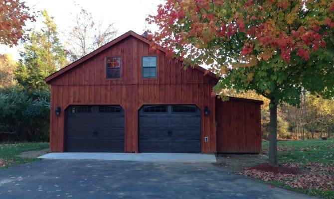 Car Garage Story Fox Run Storage Sheds