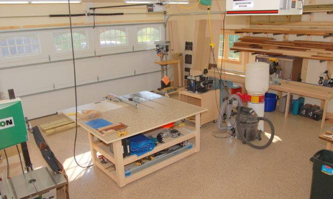 Car Garage Woodshop Plans Best Design Ideas