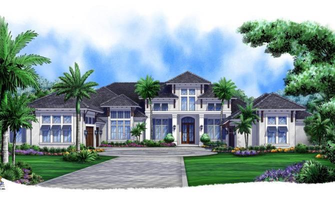 Caribbean Breeze British West Indies House Plan Weber Design Group