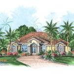 Caribbean Floor Plan Serafina House Weber Design Group