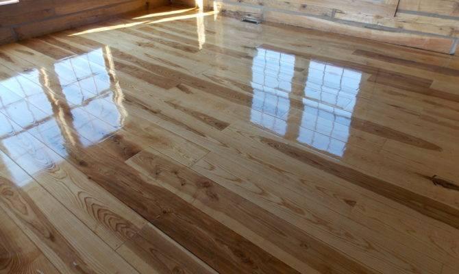 Caring Natural Hardwood Flooring Schutt Log Homes