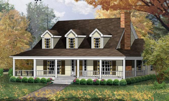 Carney Place Cape Cod Farmhouse Plan House Plans More