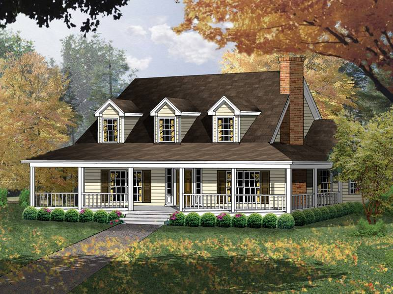 Carney Place Cape Cod Farmhouse Plan House Plans More