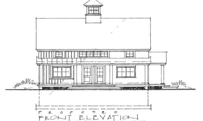Carriage House Plan Retail Residence Barn Farmstand