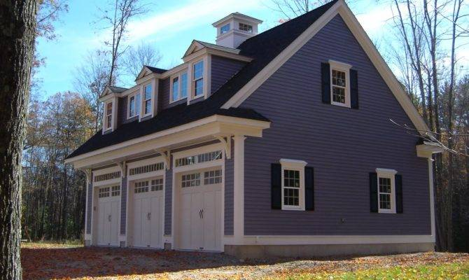 Carriage House Plans Detached Garage