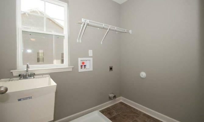 Carter Laundry Room Sink Shelving Built Mckee Homes