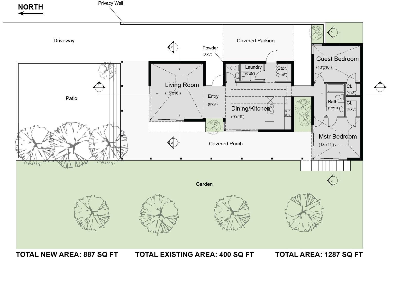 Casita House Plan Small Second Sun