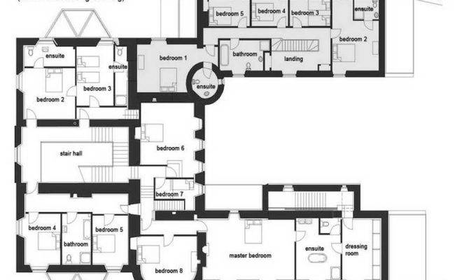 Castle Floor Plans Luxurious Design Style