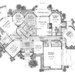 Castle Home Plans Tudor House Plan First Floor