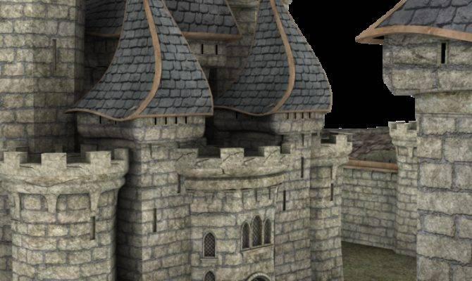 Castle Parts Make Story Book Kingdom