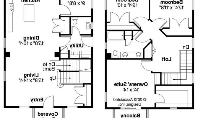 Castor Cape Cod Home Plan Floor