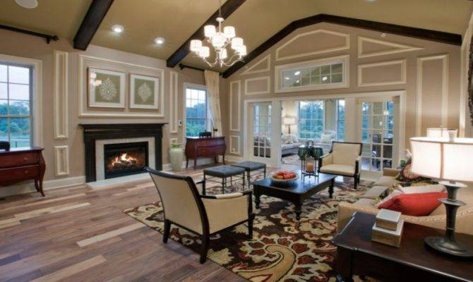 Cathedral Ceiling Living Room Design