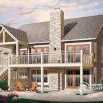 Cathedral Ceilings Fireplace Large Deck Unfinished Walkout Basement