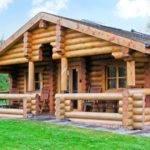 Cedar Log Cabin Brynallt Country Park Welsh Frankton
