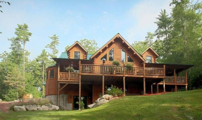 Cedar Log Home Plans