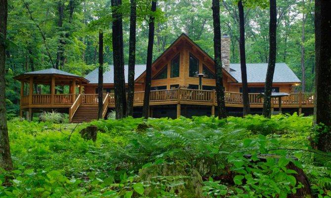 Cedar Log Homes Cabin Floor Plans Home