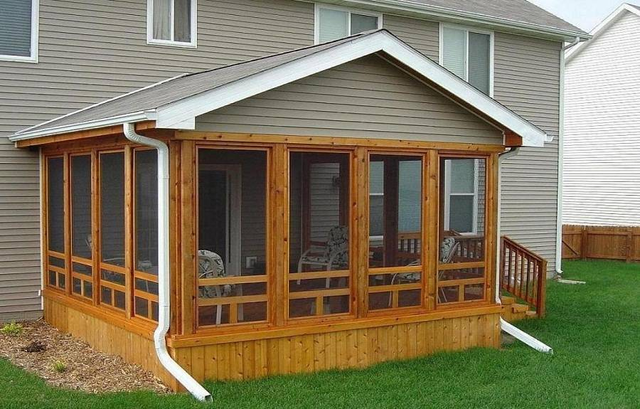 Cedar Screened Porch Screen Porches