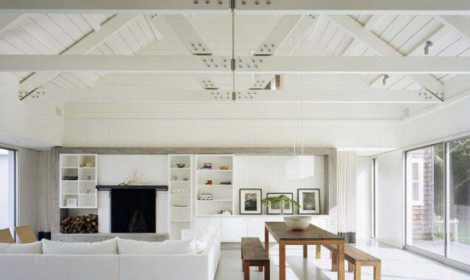 Ceiling Design Ideas Open Beam