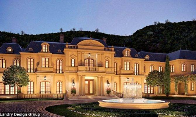 Celebrity Homes Mark Wahlberg French Style