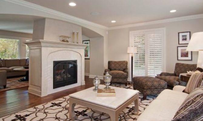 Center Room Fireplace Home Design Ideas Remodel