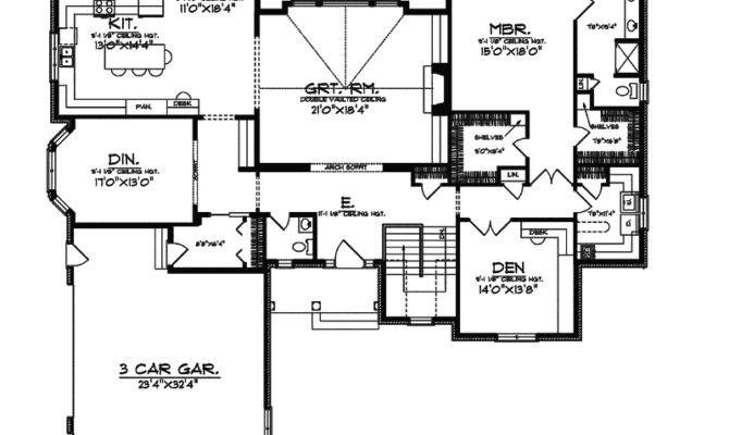Chapparal Luxury Ranch Home Plan House Plans