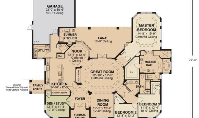 Charleston Floor Plan Nadeau Stout Custom Homes Ocala