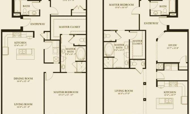 Charleston Luxury Condos Floor Plan Options Reverie