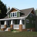 Charm Story Cottage Style House Plans Design