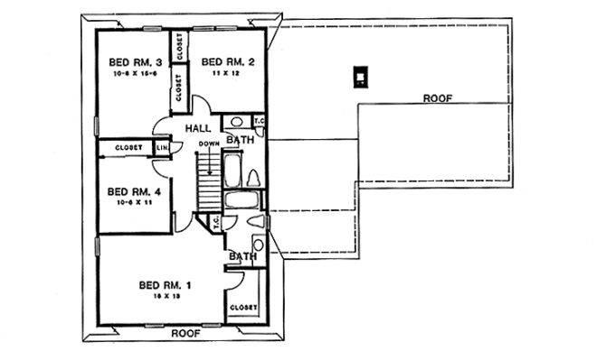 Charmed House Floor Plan Print