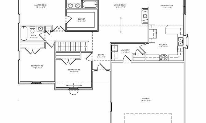 Charming Simple Floor Plans Bedroom House Three