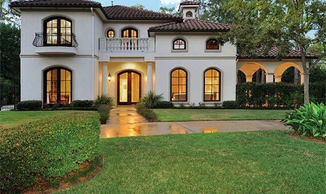 Charming Spanish Mediterranean Style Home Sale Houston
