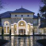 Chateau French Style Mansion Custom Residence