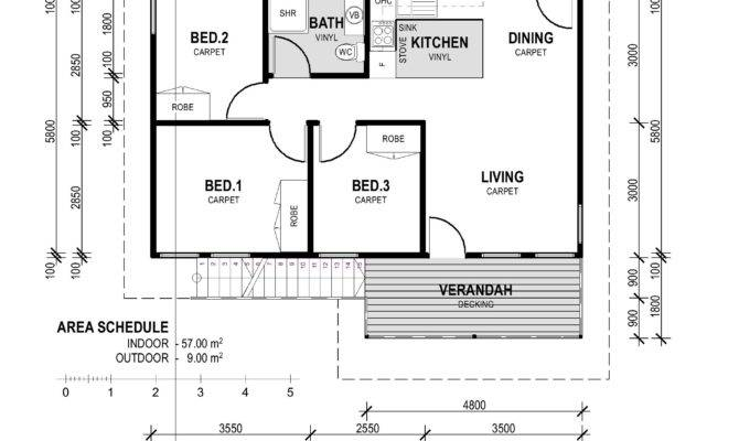 Cheap Bedroom Houses Simple Small House Plans Cronicarul