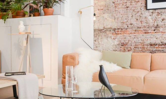 Chicdeco Blog Refined Exposed Brick Walls
